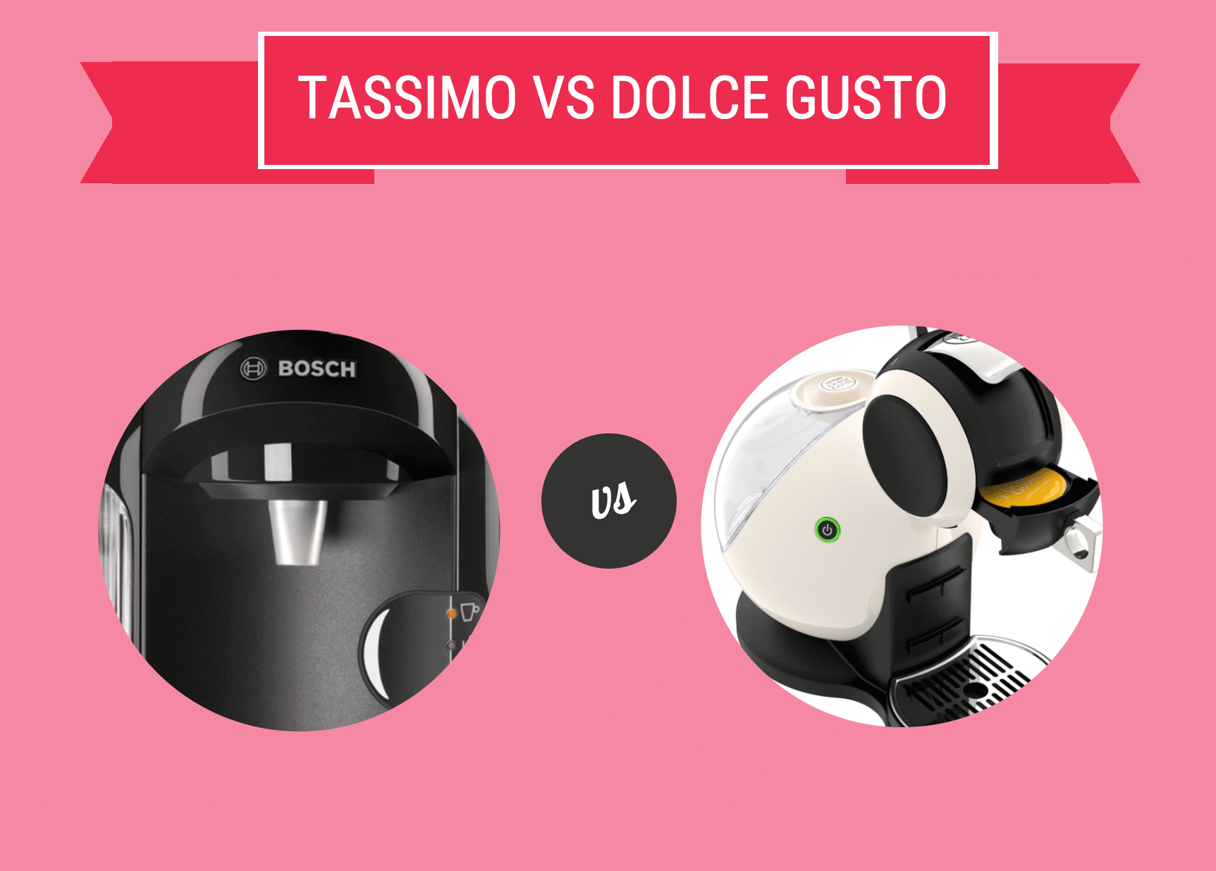 Tassimo vs Dolce Gusto: Battle of the Coffee Machines